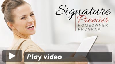 Signature Premier Homeowner Program