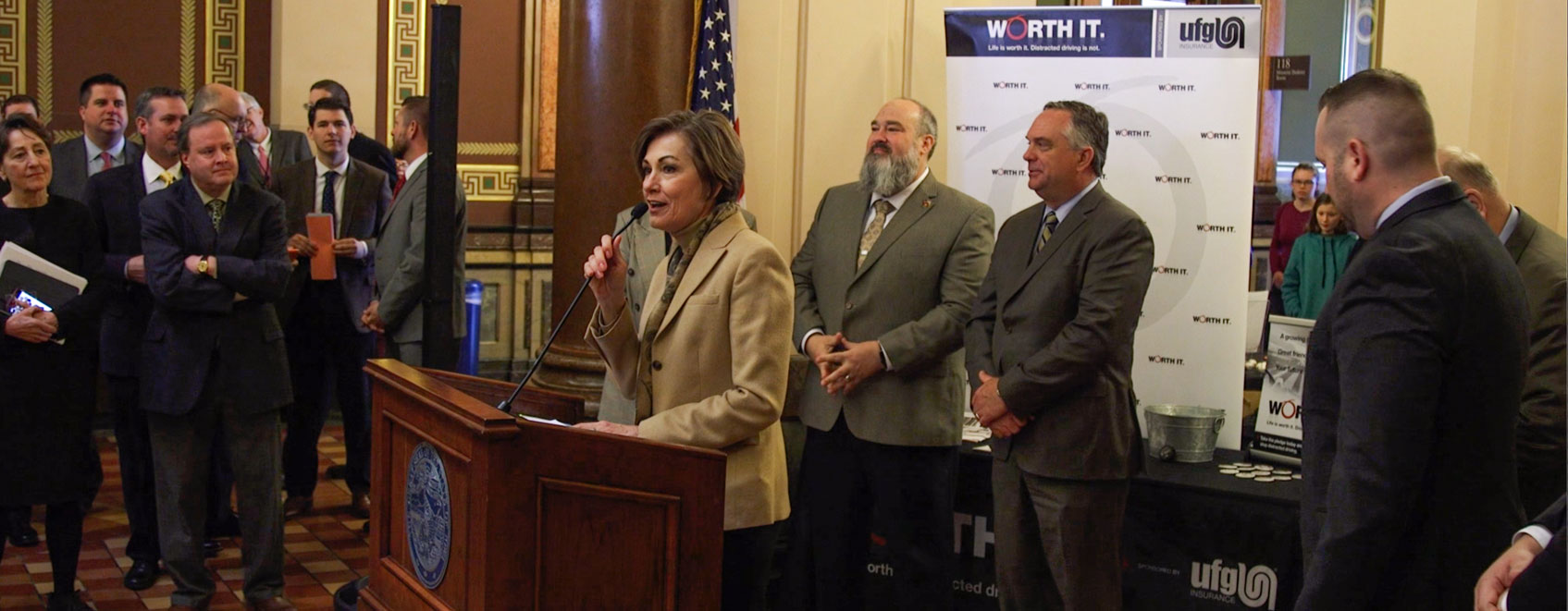 2016 Insurance Day on the Hill featuring Iowa Governor Kim Reynolds